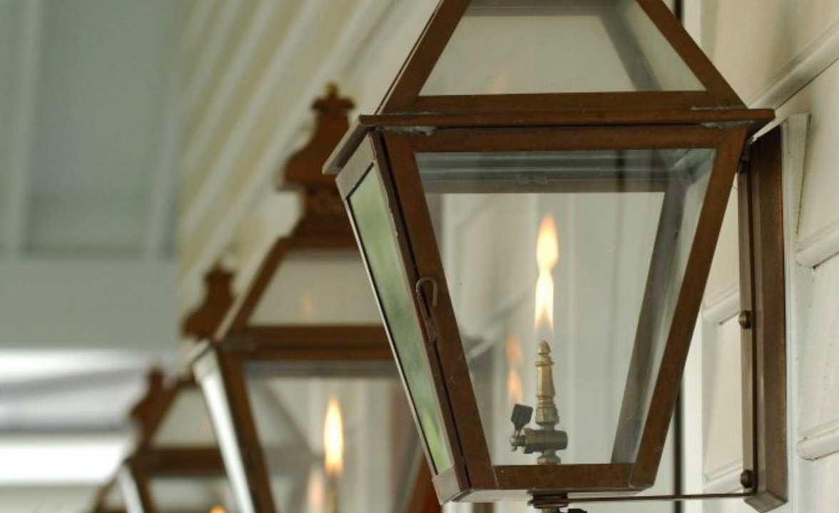 Custom Gas Lanterns from Carolina Lanterns and Lighting