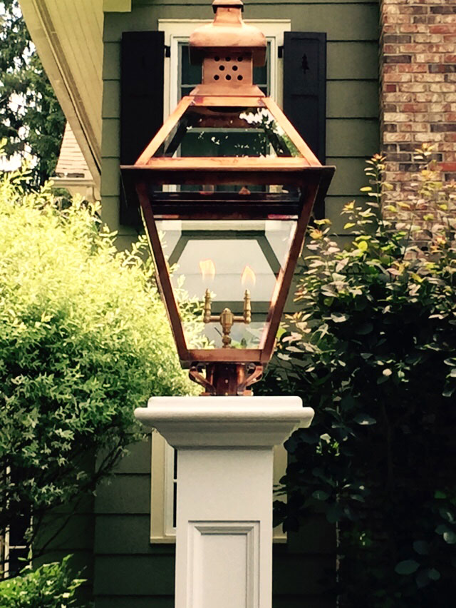 Carolina Lanterns Gas and electric Lanterns