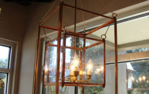Let-It-Shine with gas lanterns