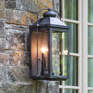 Gas and Electric outdoor lanterns