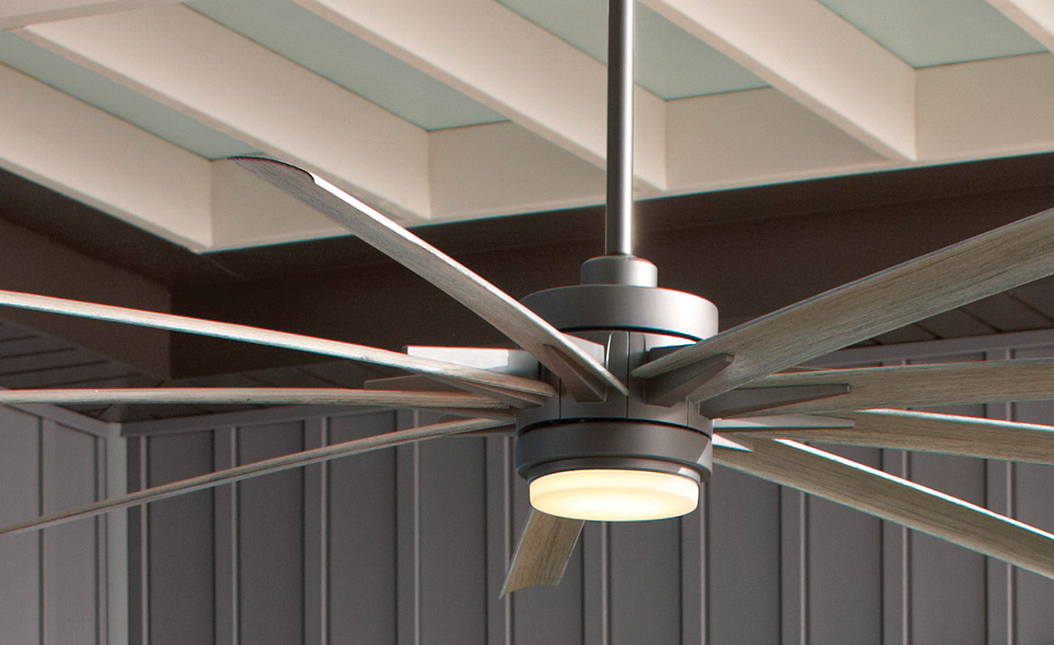 Ahrendale Collection Outdoor Ceiling Fans from Carolina Lanterns and Lighting