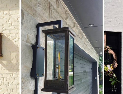 Modern and Transitional Gas Lanterns