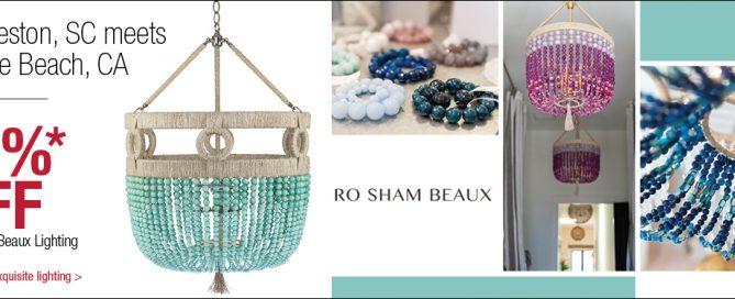 Ro Sham Beaux Lighting Sale