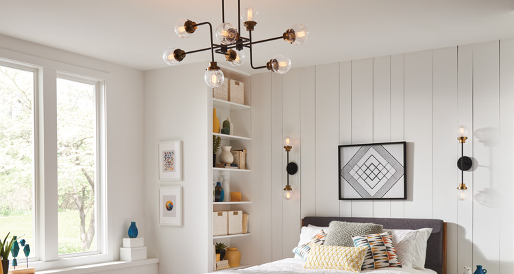 Accent-Lighting in the bedroom