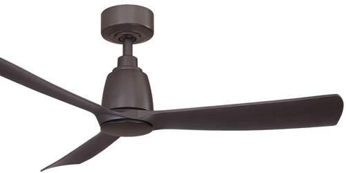 """Kute 44 Collection 44"""" 3-Blade Ceiling Fan in Dark Bronze with Dark Bronze Blades Fanimation FPD8547DZ"""